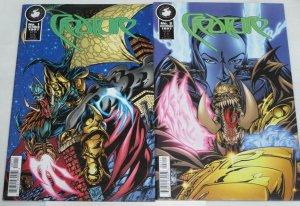 CREATURE (1997 AP) 1-2 D.WALKER;  YAKUZA VS DEMON - 2-P