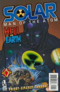 Solar, Man of the Atom—Hell on Earth #1 VF/NM; Acclaim | save on shipping - deta