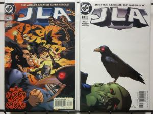 JLA (1997) 66-67  A Storm Of Crows 2-part story arc!