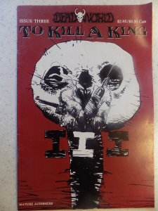 DEATH WORLD TO KILL A KING # 3