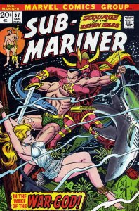 Sub-Mariner, The (Vol. 2) #57 VG; Marvel | low grade comic - save on shipping -