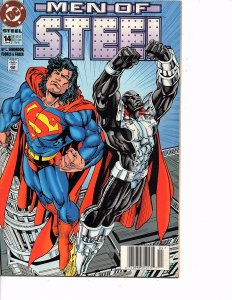 DC Comics (Vol. 1) Steel #14 Men of Steel Superman 1st App. Bug, Worm, Firebomb