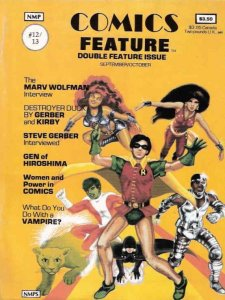 Comics Feature #12 VG; NBM   low grade comic - save on shipping - details inside