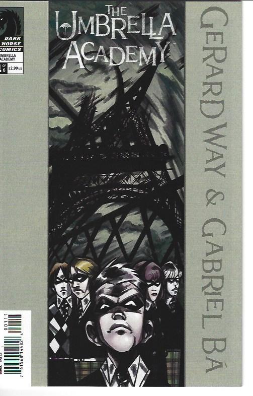 UMBRELLA ACADEMY #1 (WAY COVER) $75.00 NEAR MINT