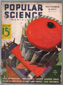 Popular Science 11/1935-Wittmack cover-new inventions-G