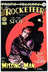 Pacific Presents the ROCKETEER #2, NM-, Dave Stevens, 1982, B Page,more in store