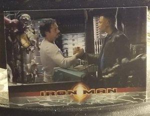 2008 Iron Man Movie Trading Card #48