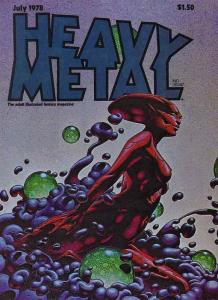 Heavy Metal #16 VF; Metal Mammoth   save on shipping - details inside