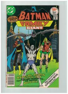 BATMAN FAMILY 13 F-VF Sept. 1977