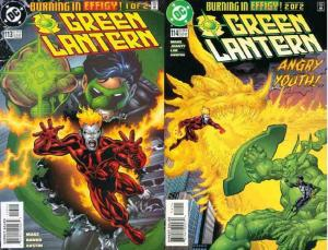 GREEN LANTERN (1990) 113-114  Burning In Effigy! COMICS BOOK