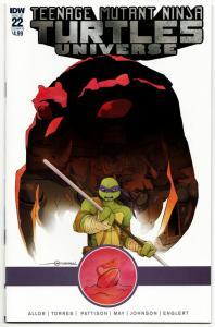 TMNT Teenage Mutant Ninja Turtles Universe #22 Cvr B (IDW, 2018) NM