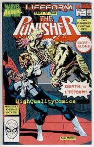 PUNISHER #3, Annual, NM+, Texeira, Mike Baron, Arsenal, more Marvel in store