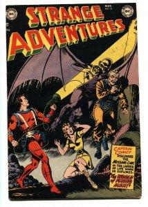 Strange Adventures #18 1952- Captain Comet- comic book FN+