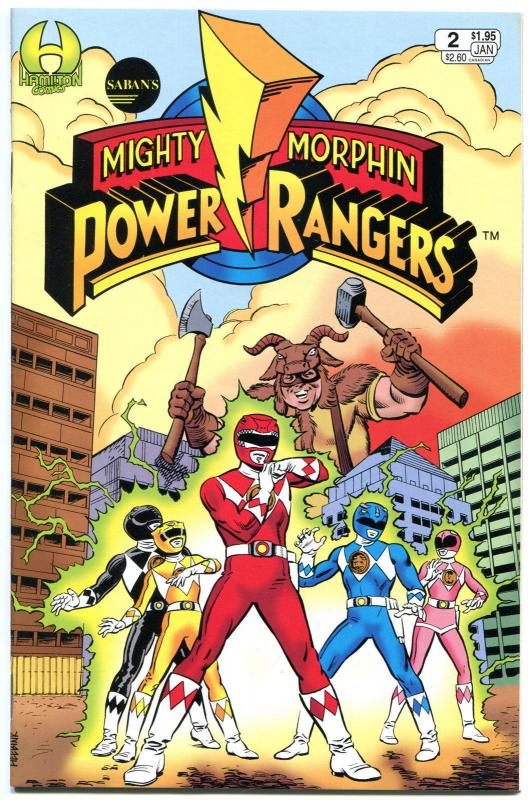 POWER RANGERS #2, NM, Martial arts, monsters, TV hit, more Kids items in store