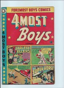 4-most boys 38 GD/VG 3.0