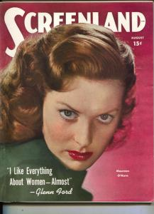 ScreenLand-Maureen O'Hara-Gail Russell-Rudy Valle-Veronica Lake-Aug-1949