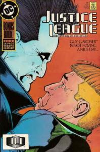Justice League International #18 FN; DC | save on shipping - details inside