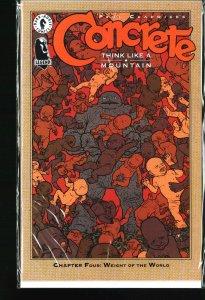 Concrete: Think Like a Mountain #4 (1996)