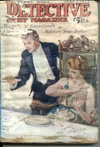DETECTIVE STORY MAGAZINE-JULY 7 1923-FISK-BUCHANAN-FLETCHER-LUEHRMAN-fair FR/G