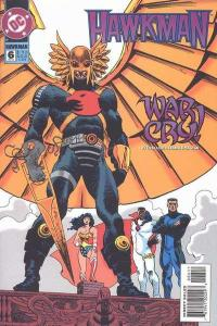 Hawkman (1993 series) #6, NM (Stock photo)