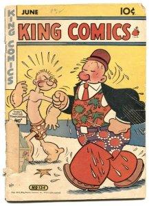 King Comics #134 1947- Popeye - Phantom G