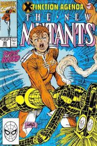 New Mutants (1983 series) #95, NM (Stock photo)