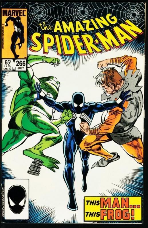 AMAZING SPIDER-MAN #266-1985-MARVEL VF
