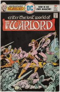 Warlord, The #1 (Feb-76) FN/VF Mid-High-Grade Warlord