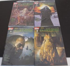 Topp's SET of 4-Mary Shelley's FRANKENSTEIN #1-4 Sealed Bag w/ card F/VF(SIC619)