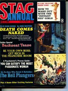 Stag Annual-1971-Pussycat-W.W. II-Chain Gangs-Sex-Adventure