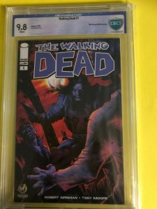 THE WALKING DEAD #1 CBCS 9.8 WHITE 8/2015 / WW CHICAGO 2015 EXCLUSIVE