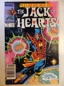 Jack of Hearts #1 (1984)