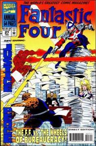 Marvel FANTASTIC FOUR (1961 Series) Annual #27 VF