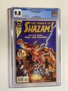 Power Of Shazam! 1 Cgc 9.8 Wp Dc Comics