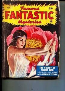 Famous Fantastic Mysteries-Pulp-8/1949-E. Charles Vivian-Margaret St. Clair