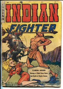Indian Fighter #1 1950-Youthful-!st issue-Crazy Horse-Good Girl Art-Johnson-G-