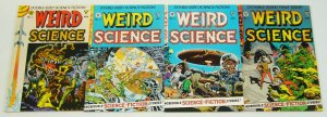 Weird Science #1-4 complete series - wally wood gladstone comics EC reprints 2 3