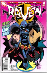 DC SPECIAL: RAVEN 1 - 5 (2008) 9.0 VF/NM  Full Mini-Series  Raven in High School