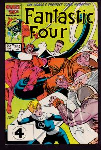 Fantastic Four #294 8.0 VF