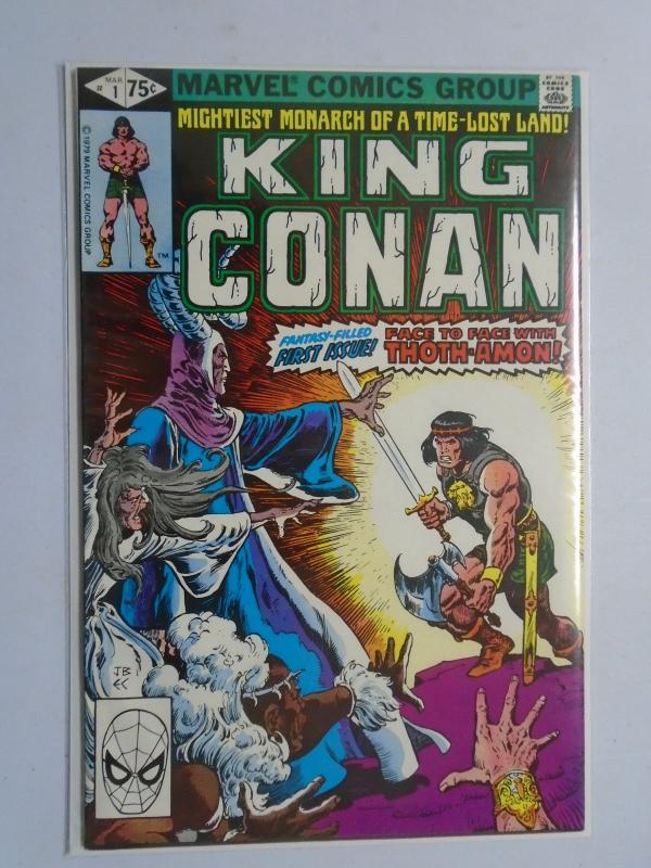 Conan the King #1, Direct Edition 6.0 (1980)