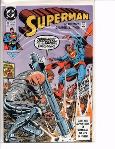 DC Comics Superman #52 Jerry Ordway Story and Cover
