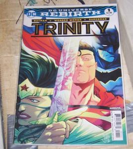 Trinity #1 (November 2016, DC) DC UNIVERSE REBIRTH BATMAN SUPERMAN WONDER WOMAN