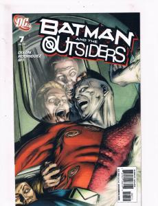 Batman & The Outsiders # 7 NM 1st Print DC Comic Book 2008 Robin Joker Arrow S61