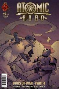 Atomic Robo: Dogs of War #4, NM (Stock photo)