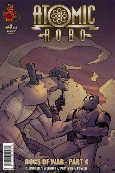 Atomic Robo: Dogs of War #4, NM (Stock photo)