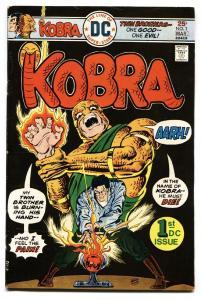 KOBRA #1-comic book GREAT DC ISSUE-Black Lightning
