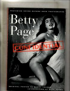 Betty Page Confidential Photography Book Bunny Yeager St. Martin's Press JF30