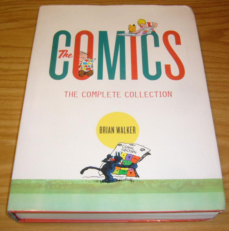 the Comics: the Complete Collection HC brian walker 650 PAGES (1st) printing