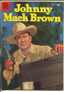 Johnny Mack Brown-Four Color Comics #685 1956-Dell-B-Western film star-FN
