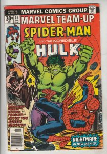 Marvel Team-Up #53 (Jan-77) VF/NM High-Grade Spider-Man